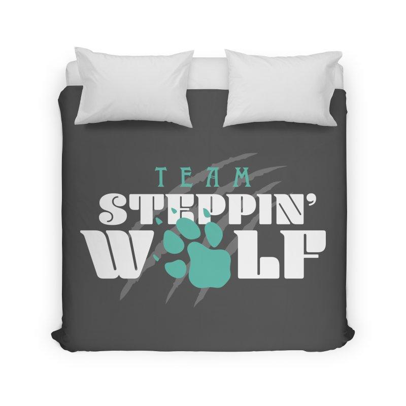 Steppin' Wolf Home Duvet by Turkeylegsray's Artist Shop