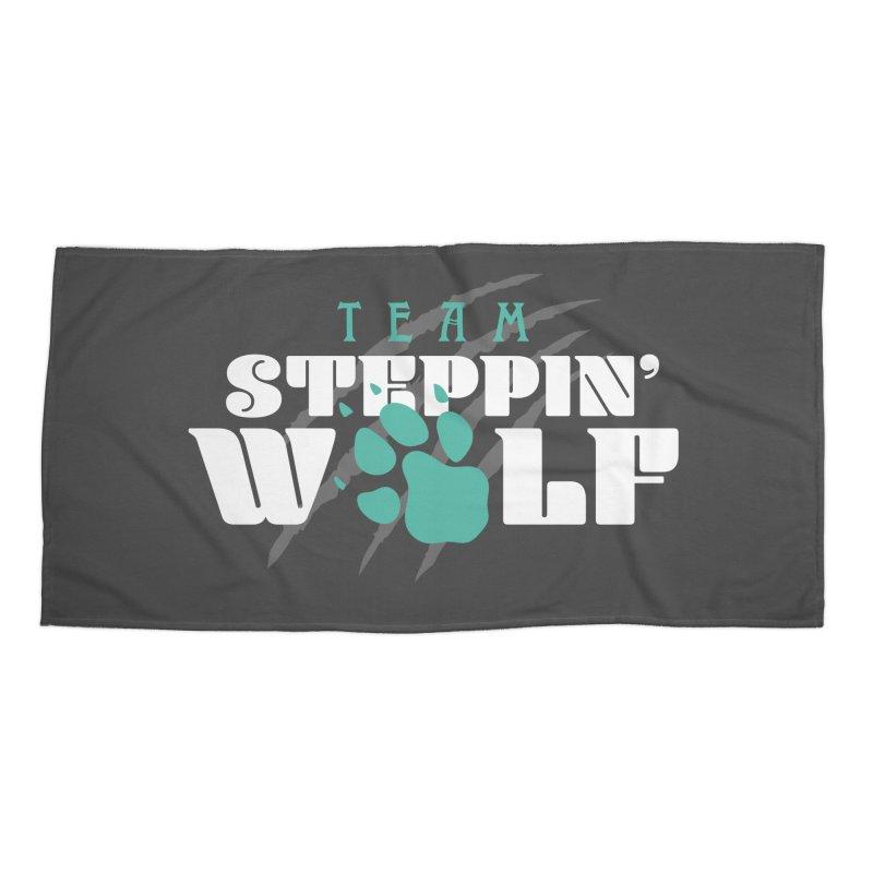 Steppin' Wolf Accessories Beach Towel by Turkeylegsray's Artist Shop