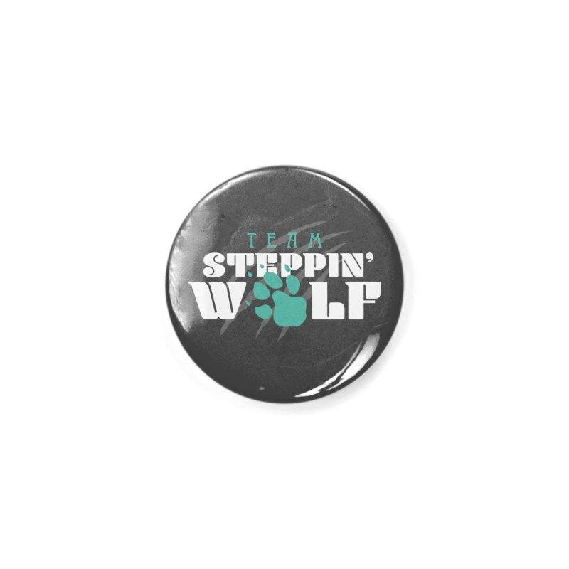 Steppin' Wolf Accessories Button by Turkeylegsray's Artist Shop