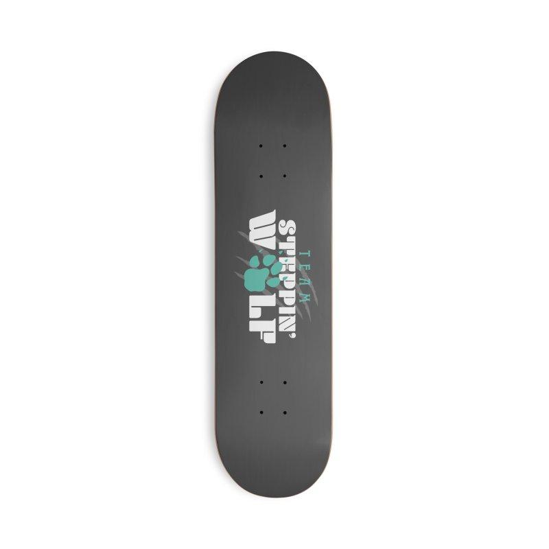 Steppin' Wolf Accessories Deck Only Skateboard by Turkeylegsray's Artist Shop