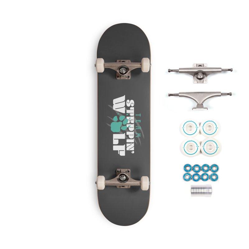 Steppin' Wolf Accessories Complete - Basic Skateboard by Turkeylegsray's Artist Shop