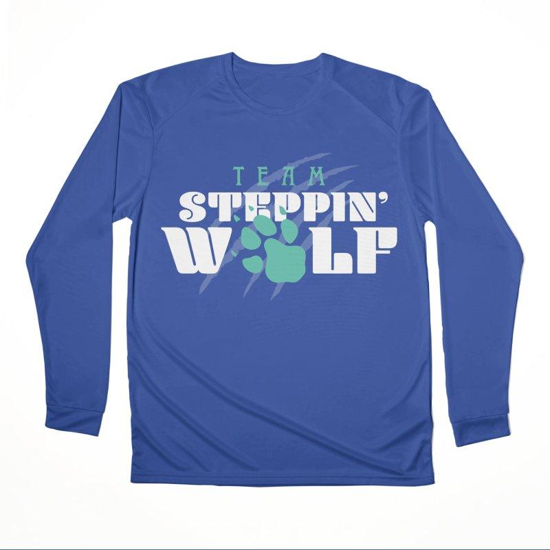Steppin' Wolf Men's Performance Longsleeve T-Shirt by Turkeylegsray's Artist Shop