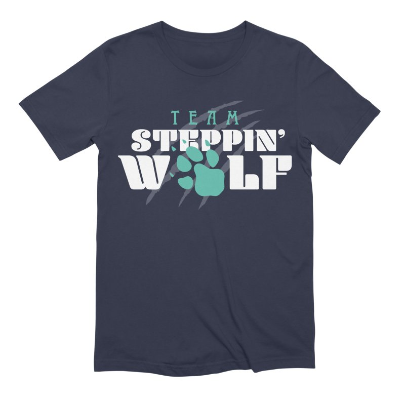 Steppin' Wolf Men's Extra Soft T-Shirt by Turkeylegsray's Artist Shop