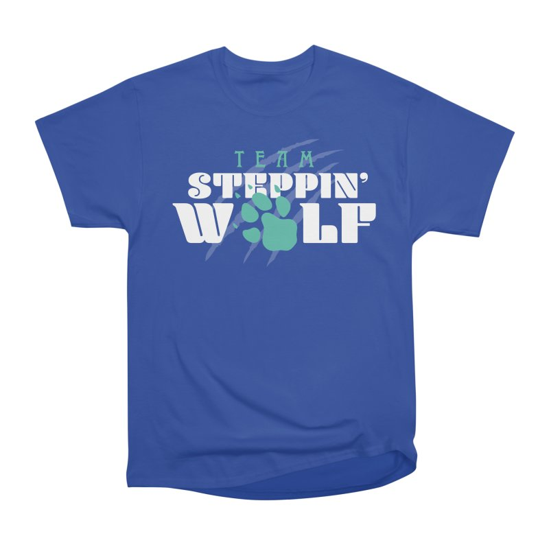 Steppin' Wolf Men's Heavyweight T-Shirt by Turkeylegsray's Artist Shop