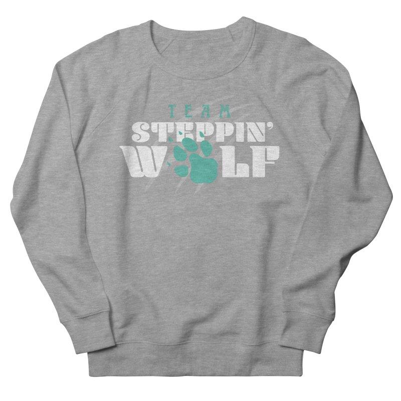 Steppin' Wolf Men's French Terry Sweatshirt by Turkeylegsray's Artist Shop
