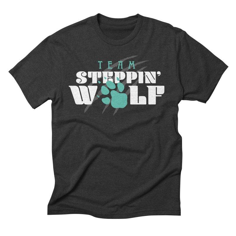 Steppin' Wolf Men's Triblend T-Shirt by Turkeylegsray's Artist Shop