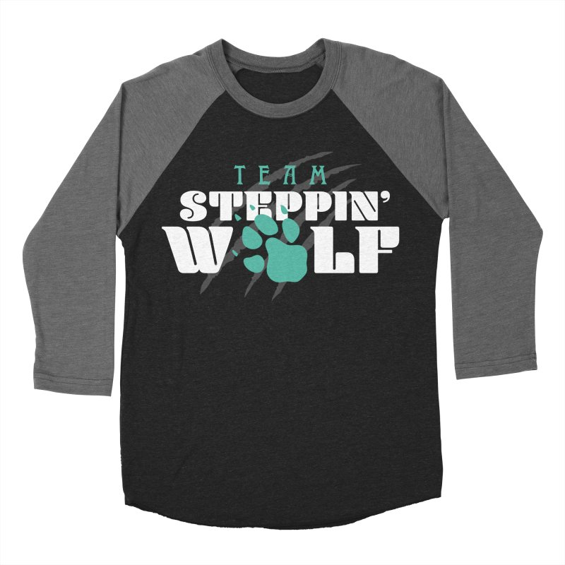 Steppin' Wolf Women's Baseball Triblend Longsleeve T-Shirt by Turkeylegsray's Artist Shop