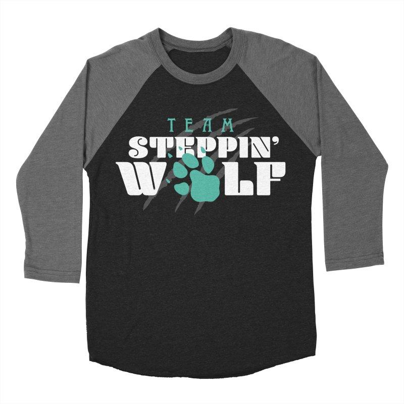 Steppin' Wolf Men's Baseball Triblend Longsleeve T-Shirt by Turkeylegsray's Artist Shop