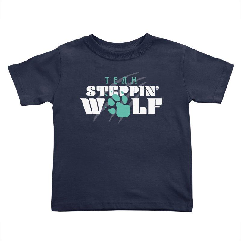 Steppin' Wolf Kids Toddler T-Shirt by Turkeylegsray's Artist Shop