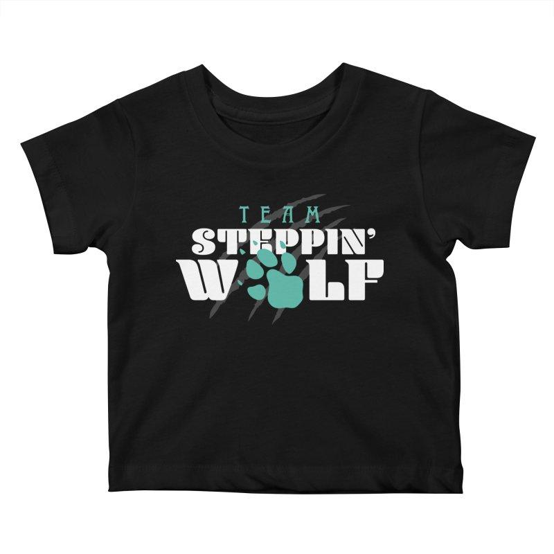 Steppin' Wolf Kids Baby T-Shirt by Turkeylegsray's Artist Shop