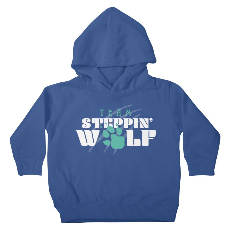 Steppin' Wolf Kids Toddler Pullover Hoody by Turkeylegsray's Artist Shop