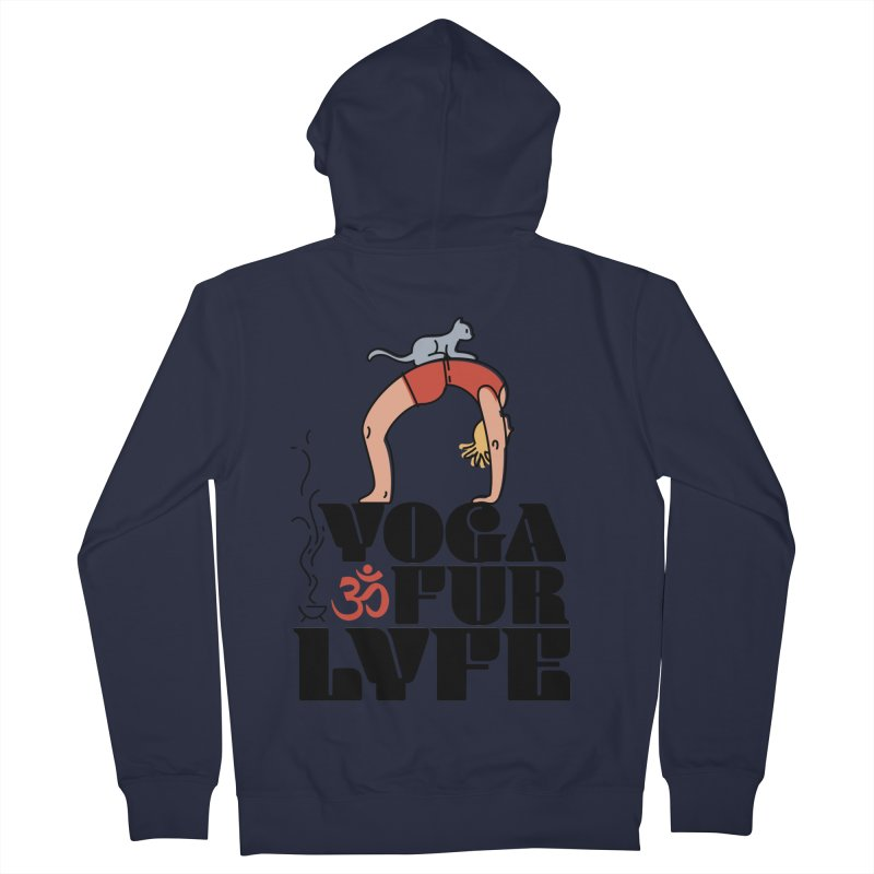 CAT YOGA Women's Zip-Up Hoody by Turkeylegsray's Artist Shop