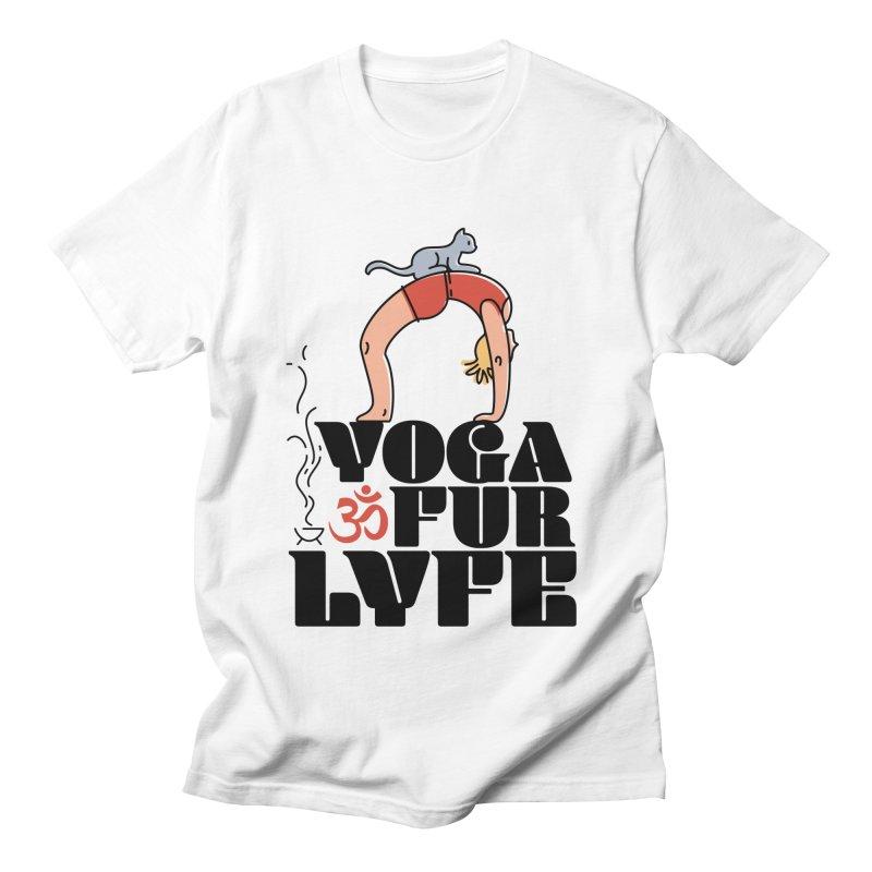 CAT YOGA Women's Regular Unisex T-Shirt by Turkeylegsray's Artist Shop