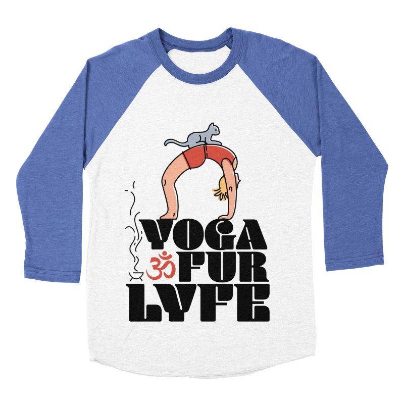 CAT YOGA Women's Baseball Triblend Longsleeve T-Shirt by Turkeylegsray's Artist Shop