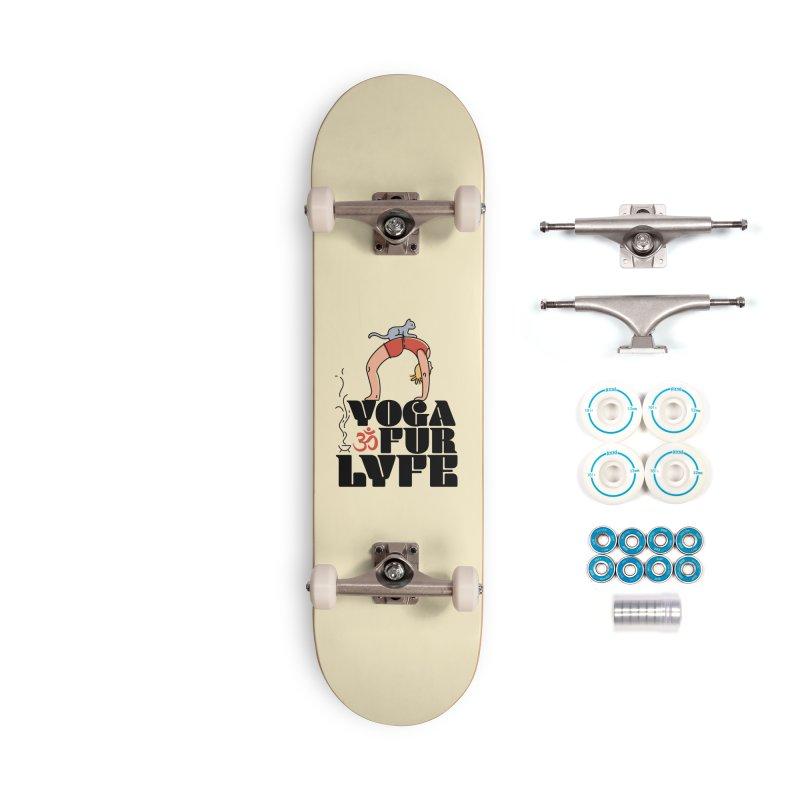 CAT YOGA Accessories Complete - Basic Skateboard by Turkeylegsray's Artist Shop