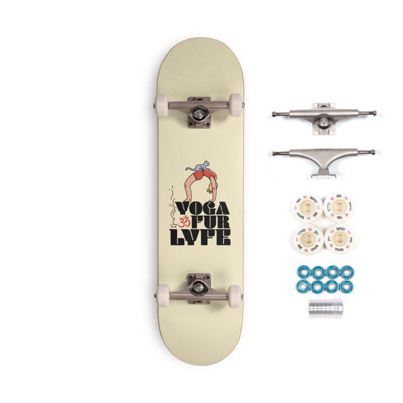 CAT YOGA Accessories Complete - Premium Skateboard by Turkeylegsray's Artist Shop