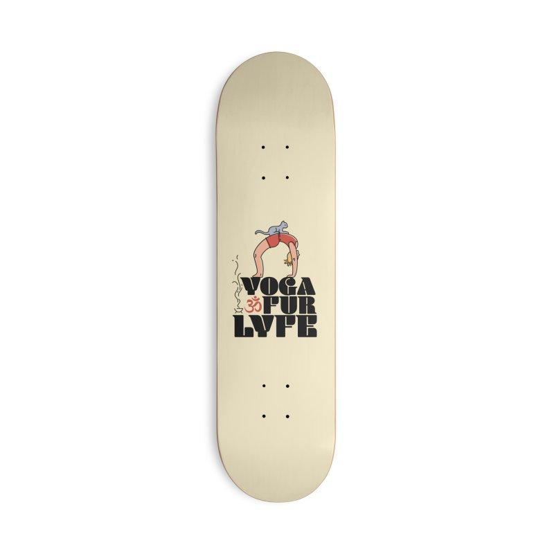 CAT YOGA Accessories Deck Only Skateboard by Turkeylegsray's Artist Shop