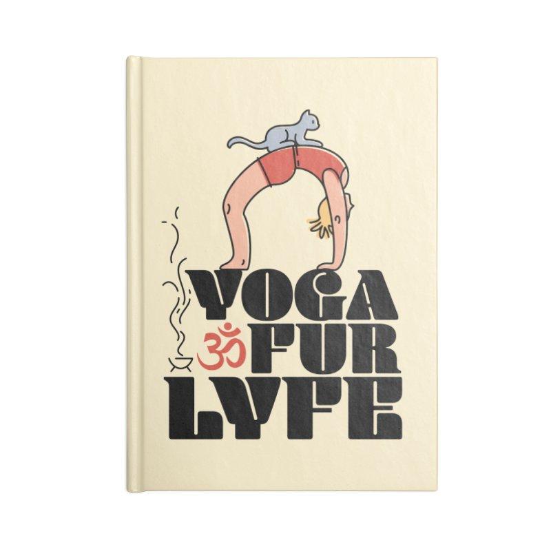 CAT YOGA Accessories Blank Journal Notebook by Turkeylegsray's Artist Shop