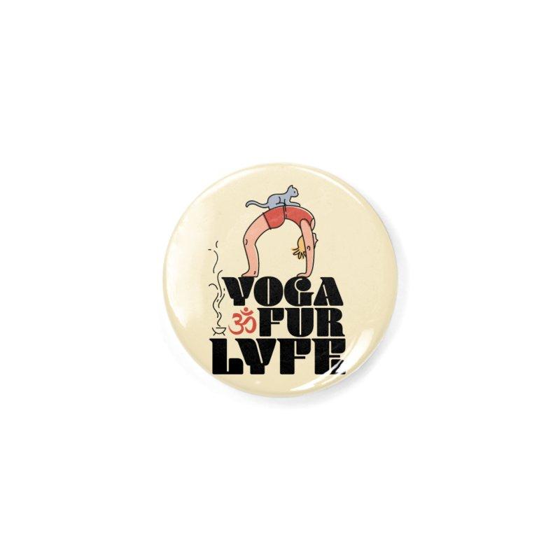 CAT YOGA Accessories Button by Turkeylegsray's Artist Shop