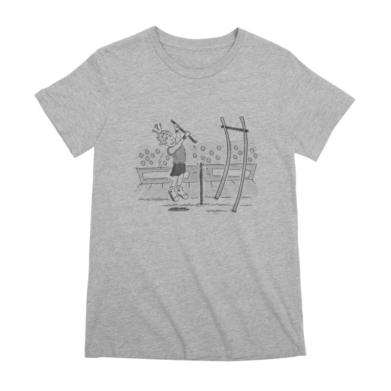 Pole Vaulting Women's Premium T-Shirt by Turkeylegsray's Artist Shop