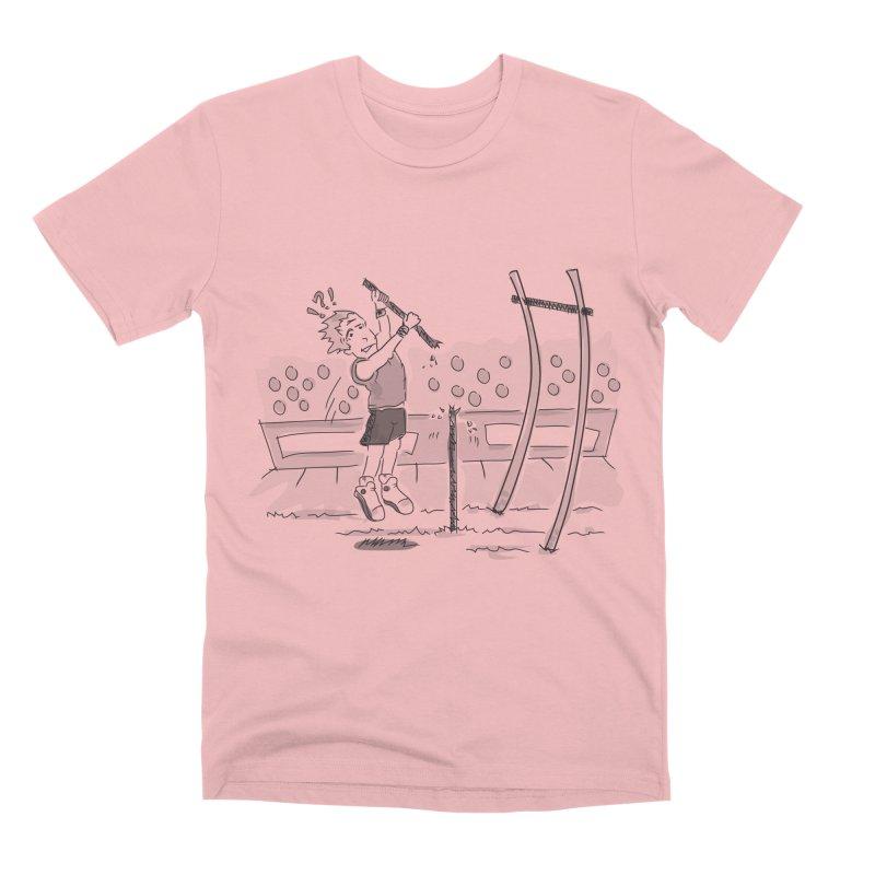 Pole Vaulting Men's Premium T-Shirt by Turkeylegsray's Artist Shop