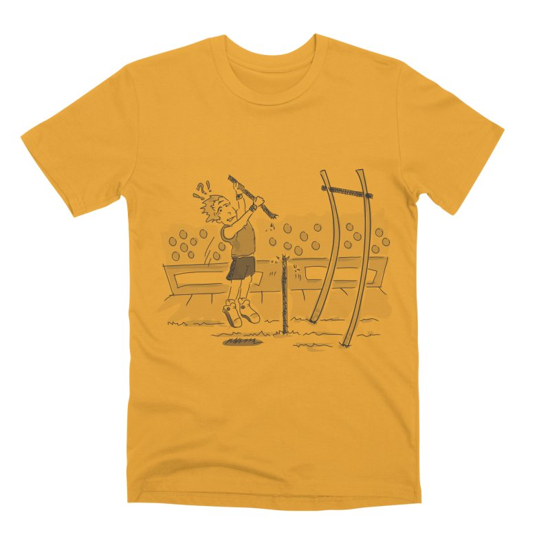Pole Vaulting Men's Premium T-Shirt by Turkeylegsray's Artist Shop