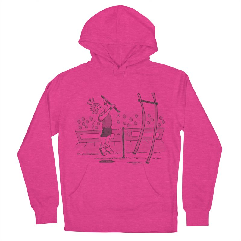 Pole Vaulting Men's French Terry Pullover Hoody by Turkeylegsray's Artist Shop
