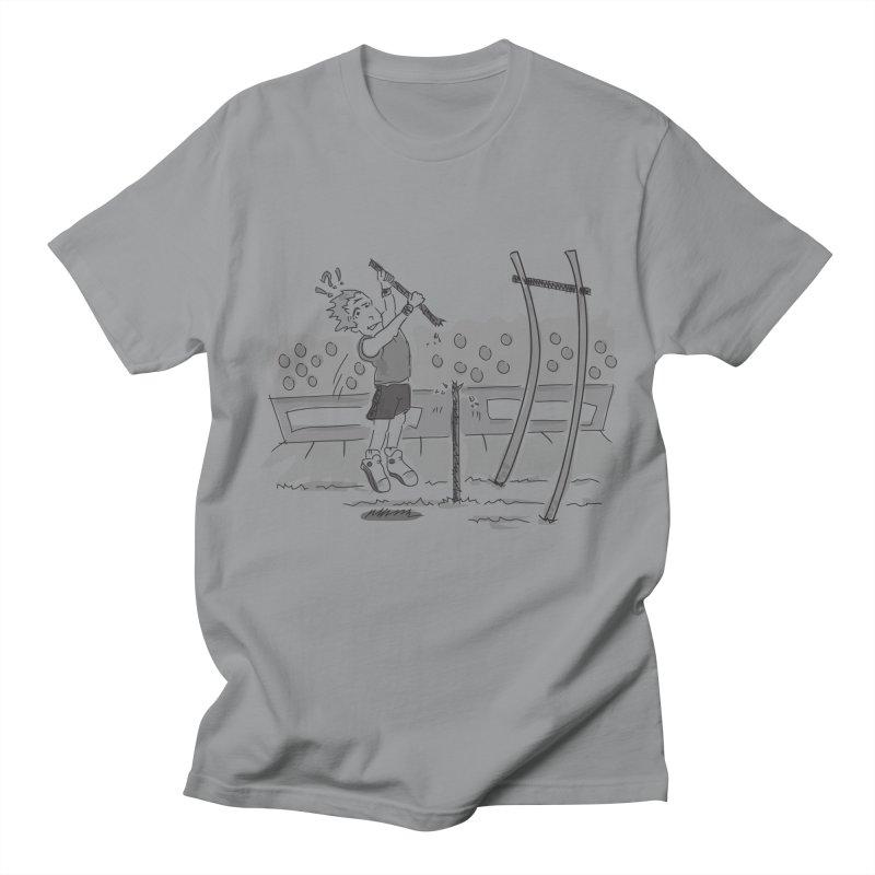 Pole Vaulting Men's Regular T-Shirt by Turkeylegsray's Artist Shop