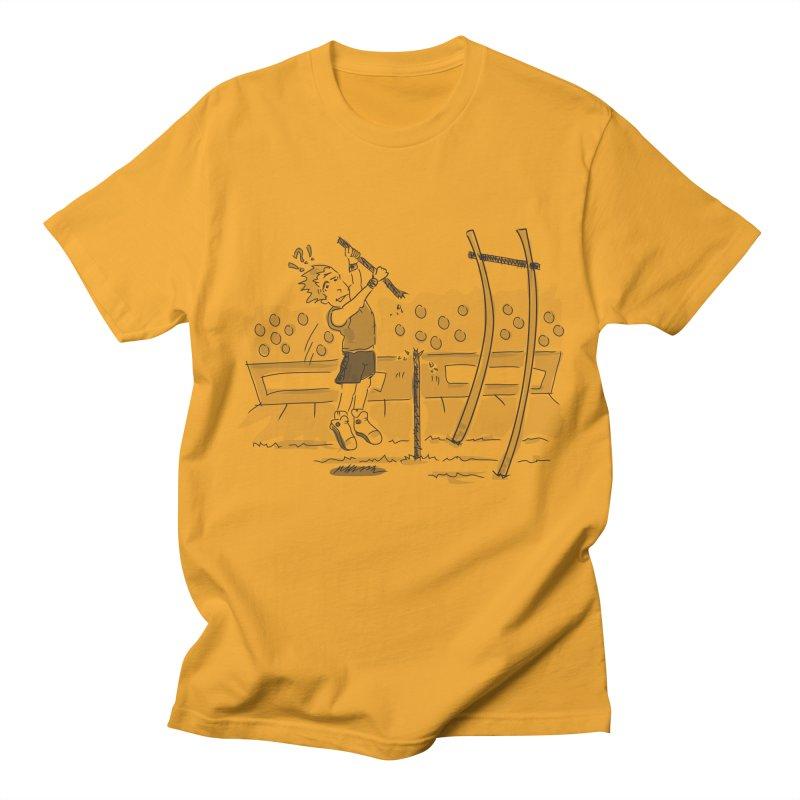 Pole Vaulting Women's Regular Unisex T-Shirt by Turkeylegsray's Artist Shop