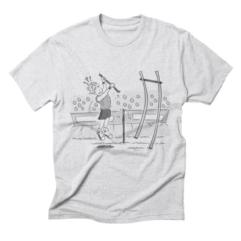 Pole Vaulting Men's Triblend T-Shirt by Turkeylegsray's Artist Shop