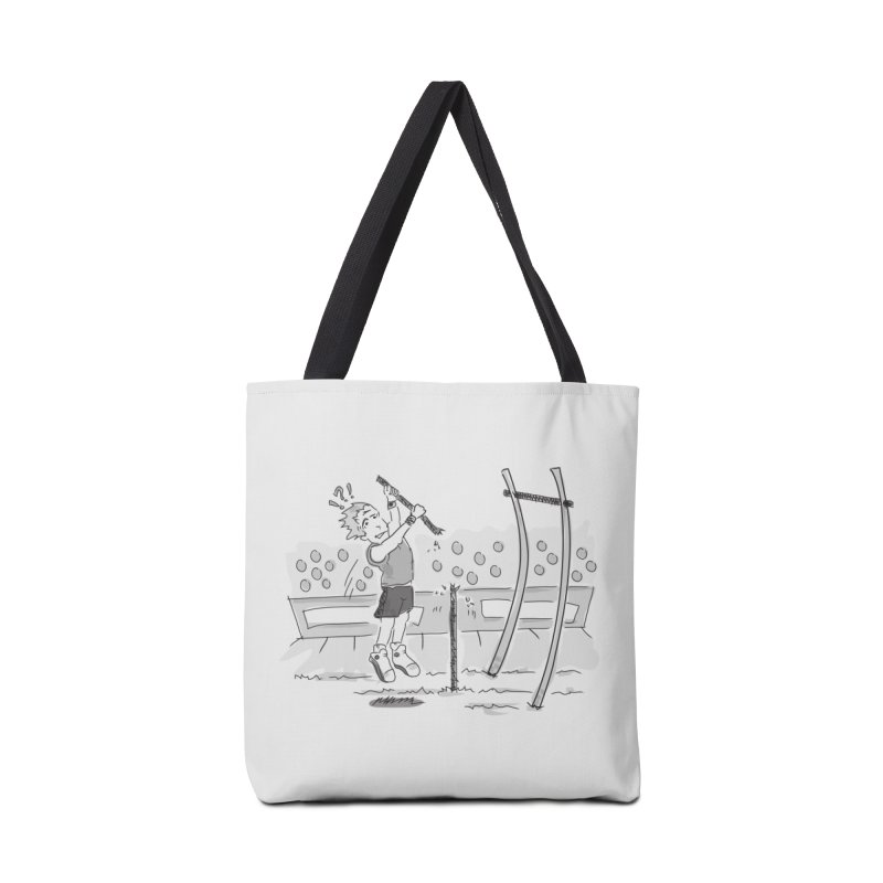 Pole Vaulting Accessories Tote Bag Bag by Turkeylegsray's Artist Shop