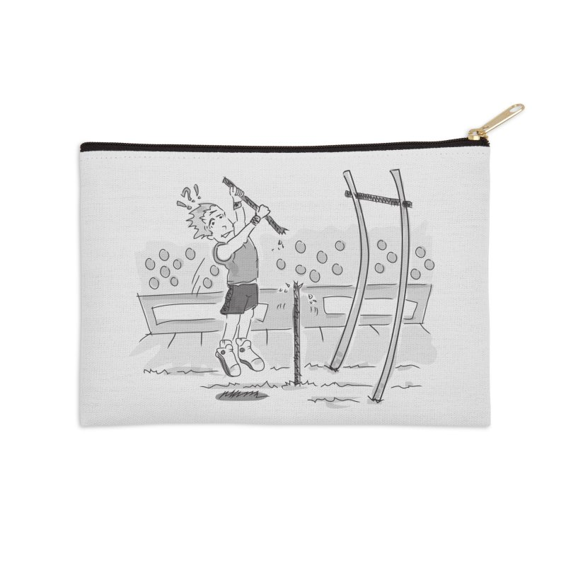 Pole Vaulting Accessories Zip Pouch by Turkeylegsray's Artist Shop