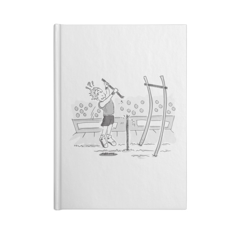 Pole Vaulting Accessories Lined Journal Notebook by Turkeylegsray's Artist Shop