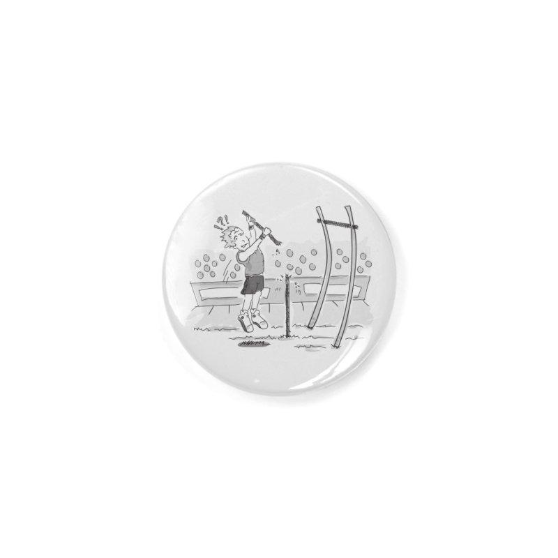 Pole Vaulting Accessories Button by Turkeylegsray's Artist Shop