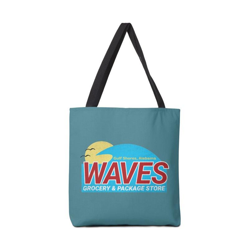 WAVES Accessories Tote Bag Bag by Turkeylegsray's Artist Shop
