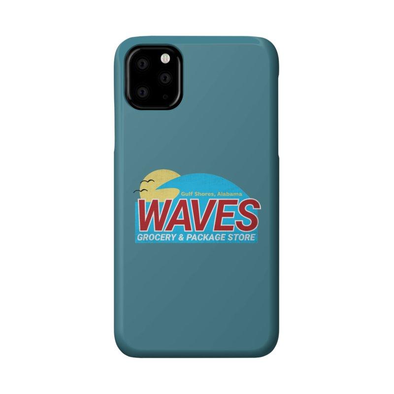 WAVES Accessories Phone Case by Turkeylegsray's Artist Shop