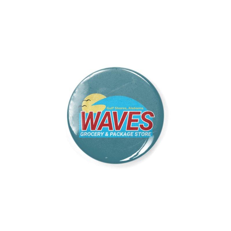 WAVES Accessories Button by Turkeylegsray's Artist Shop