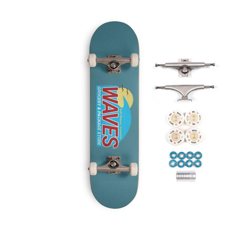 WAVES Accessories Complete - Premium Skateboard by Turkeylegsray's Artist Shop