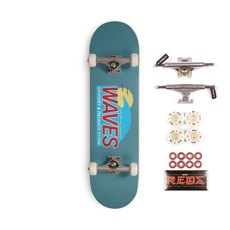 WAVES Accessories Complete - Pro Skateboard by Turkeylegsray's Artist Shop