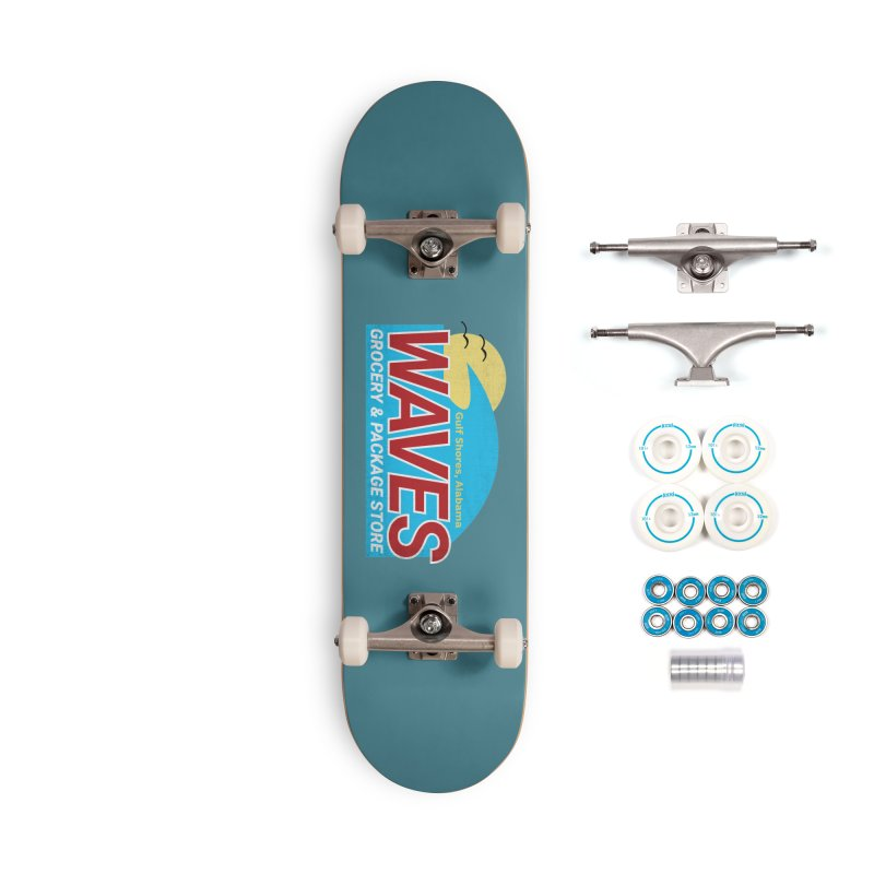 WAVES Accessories Complete - Basic Skateboard by Turkeylegsray's Artist Shop