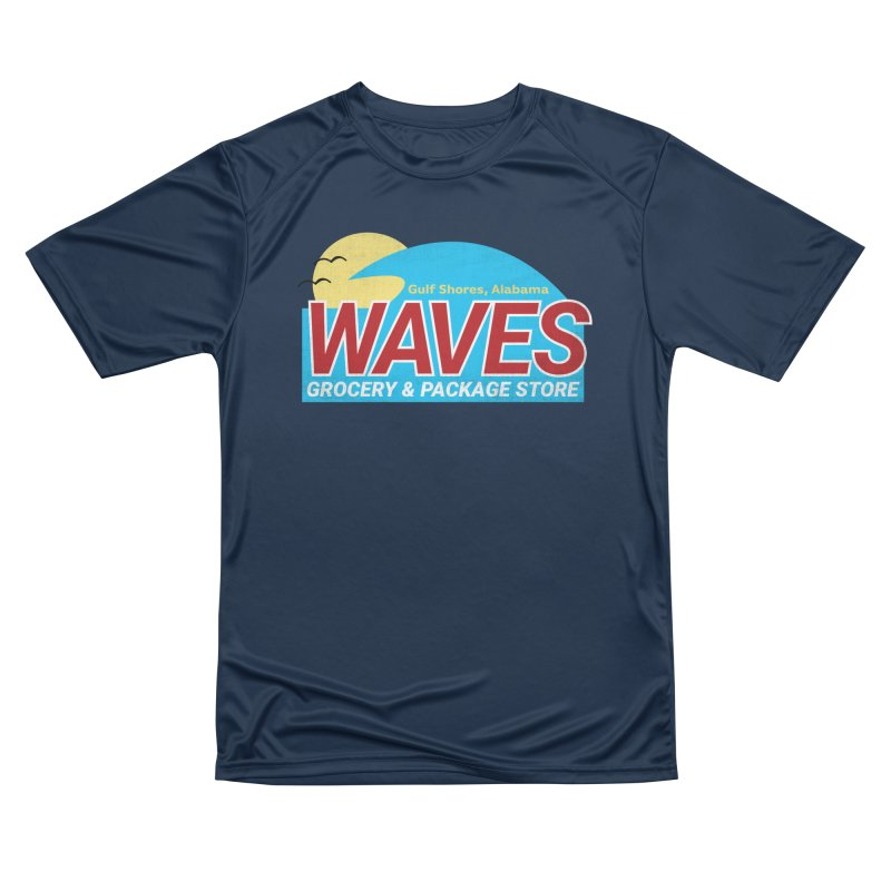 WAVES Women's Performance Unisex T-Shirt by Turkeylegsray's Artist Shop