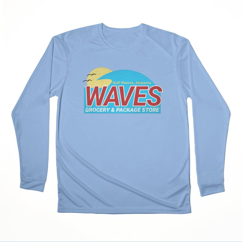 WAVES Women's Performance Unisex Longsleeve T-Shirt by Turkeylegsray's Artist Shop