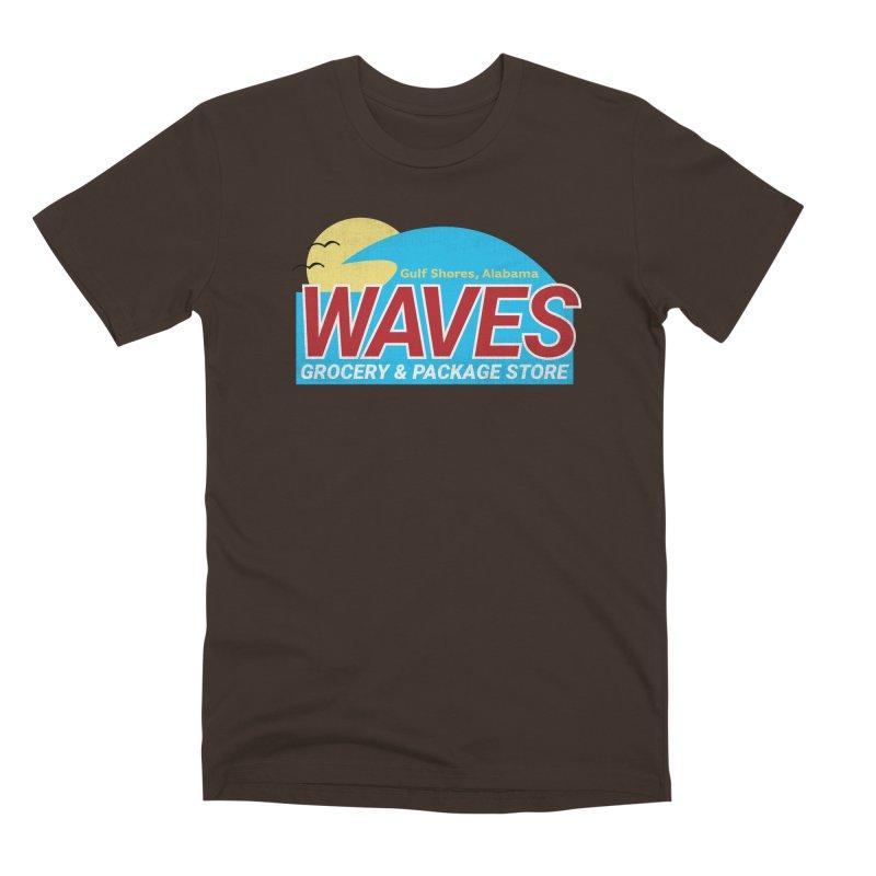 WAVES Men's Premium T-Shirt by Turkeylegsray's Artist Shop