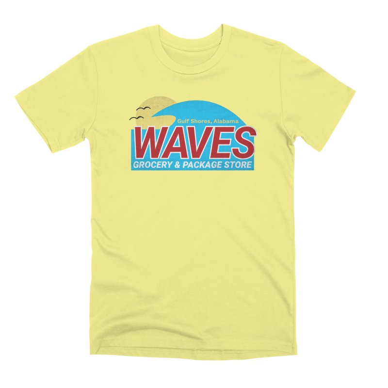 WAVES Men's Premium T-Shirt by Turkeylegsray's Artist Shop