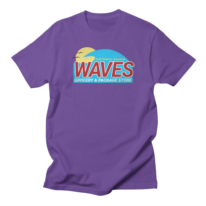 WAVES Women's Regular Unisex T-Shirt by Turkeylegsray's Artist Shop