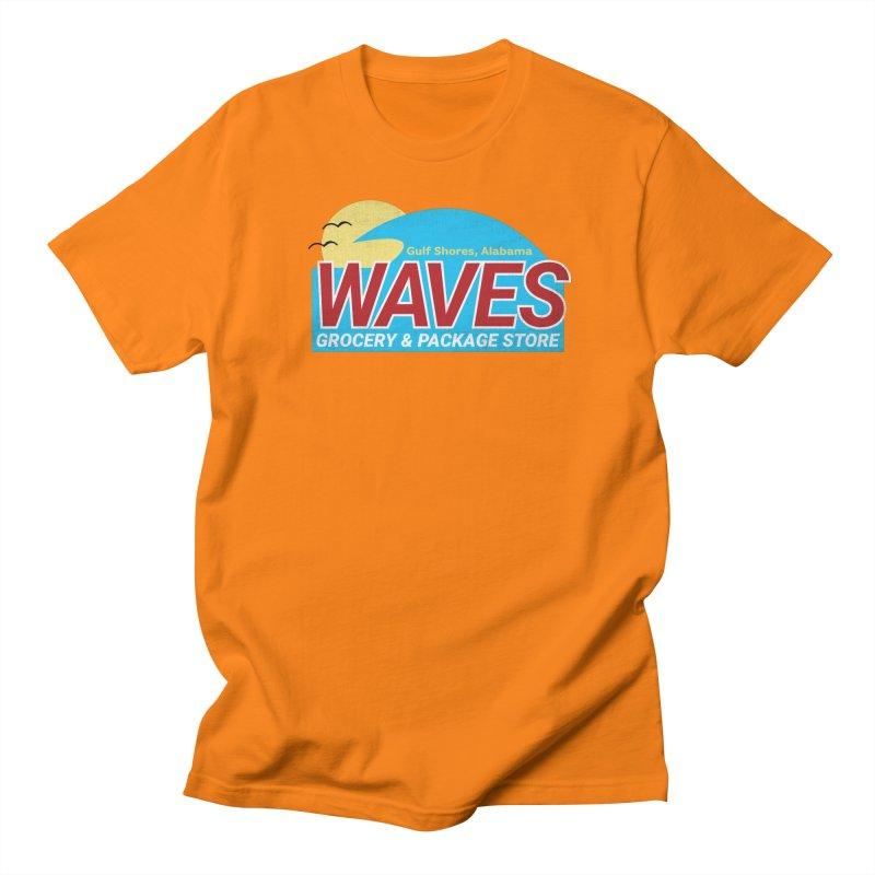 WAVES Men's Regular T-Shirt by Turkeylegsray's Artist Shop