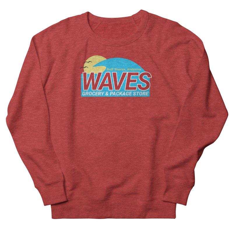 WAVES Women's French Terry Sweatshirt by Turkeylegsray's Artist Shop