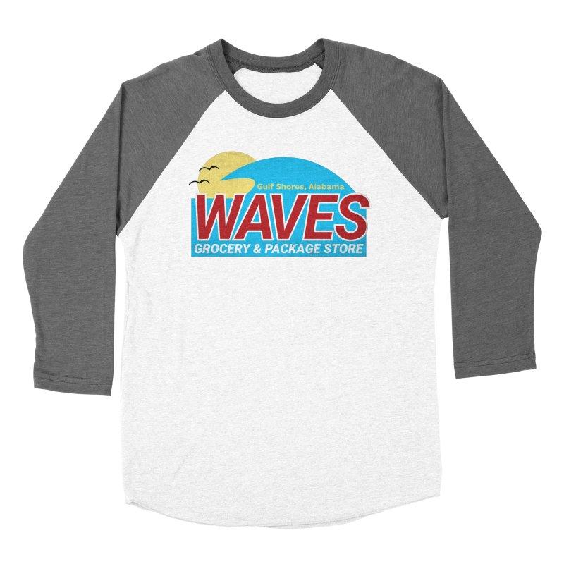 WAVES Men's Baseball Triblend Longsleeve T-Shirt by Turkeylegsray's Artist Shop
