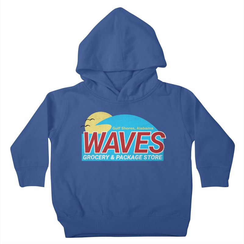 WAVES Kids Toddler Pullover Hoody by Turkeylegsray's Artist Shop
