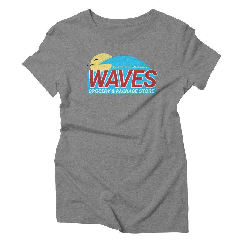 WAVES Women's Triblend T-Shirt by Turkeylegsray's Artist Shop